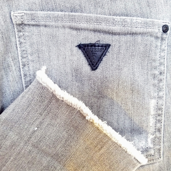 """Guess Denim - **2 for $25* Guess Grey """"Super High Waisted"""" Jeans"""